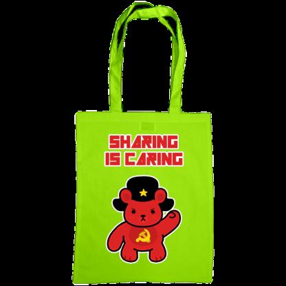 Sharing is caring sharebear bag kiwi