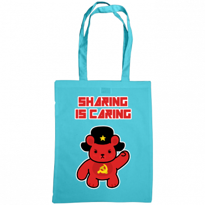Sharing is caring sharebear bag surf blue