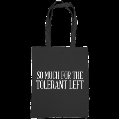 so much for the tolerant left bag black