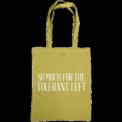 so much for the tolerant left bag caramel