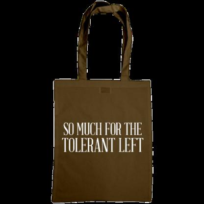 so much for the tolerant left bag chestnut