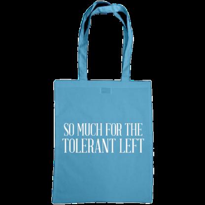 so much for the tolerant left bag cornflower