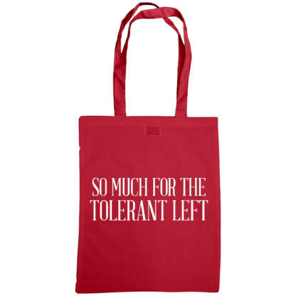 so much for the tolerant left bag cranberry