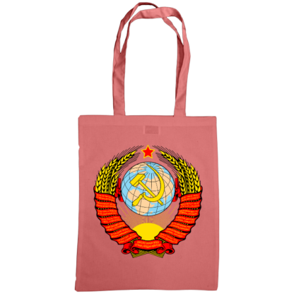 soviet crest ussr bag classic pink