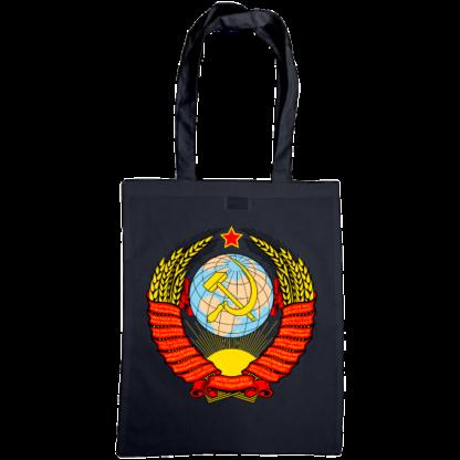 soviet crest ussr bag navy