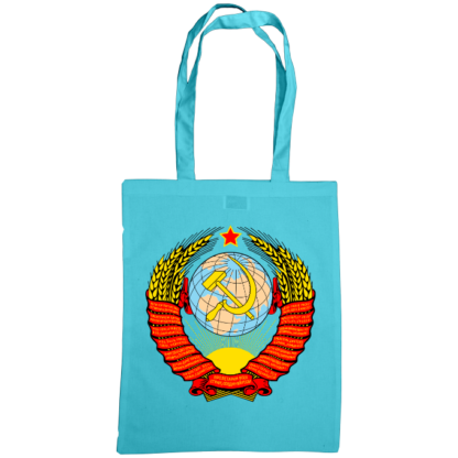 soviet crest ussr bag surf blue