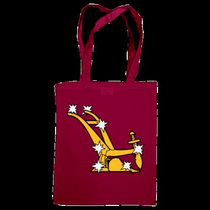 starry plough bag burgundy