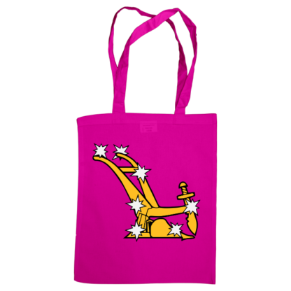 starry plough bag fuscia