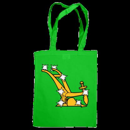 starry plough bag green