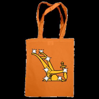 starry plough bag orange