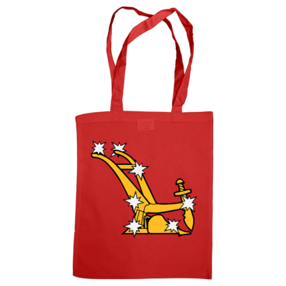 starry plough bag red