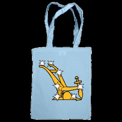starry plough bag sky blue
