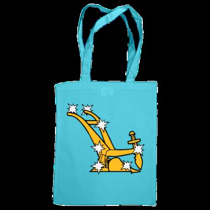 starry plough bag surf blue