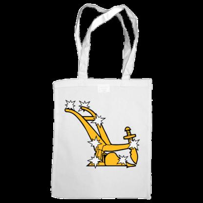 starry plough bag white