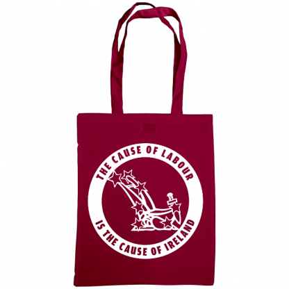 The cause of labour is the cause of ireland bag burgundy