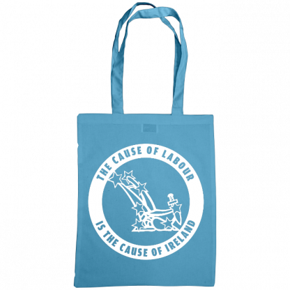 The cause of labour is the cause of ireland bag cornflower blue