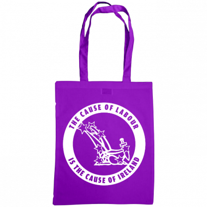 The cause of labour is the cause of ireland bag purple