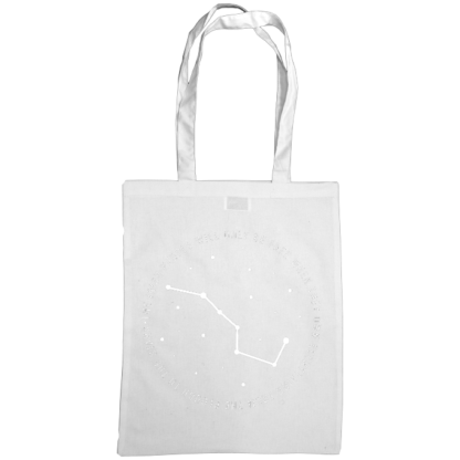 the irish people will only be free when they own everything from the plough to the stars bag white