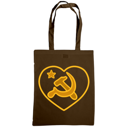 we love communism bag chocolate