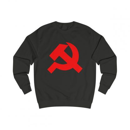 Hammer and sickle sweatshirt black