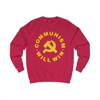 communism will win sweatshirt red