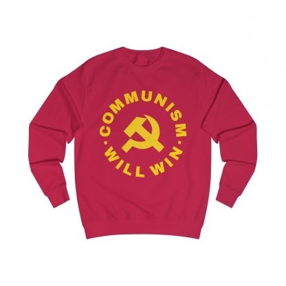 communism will win sweatshirt red